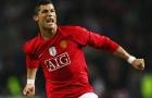Những pha bứt tốc kinh hoàng của Ronaldo thời còn ở Man Utd