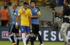 Pha lốp bóng tinh tế của Neymar giúp Brazil hạ Uruguay