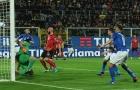 Italia hạ gục Albania trong ngày Buffon có trận đấu thứ 1000