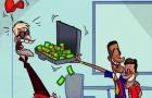 Hí họa Neymar dùng vali tiền để đưa Coutinho về Barca