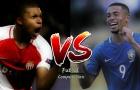 Đọ tài năng Kylian Mbappe vs Gabriel Jesus