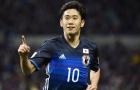Shinji Kagawa xoay sở đẳng cấp và ghi bàn vào lưới Thái Lan