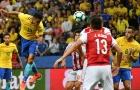 Hàng công tỏa sáng rực rỡ, Brazil đè bẹp Paraguay