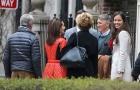 Schweinsteiger tình tứ bên Ana Ivanovic ở Chicago