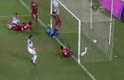 Bekham xỏ háng thủ môn đối thủ từ chấm phạt góc