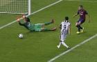 Alvaro Morata giúp Juventus phá lưới Barcelona