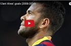 Alves từng rất 'bá đạo' trong màu áo Barcelona