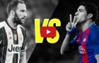 Luis Suarez vs Gonzalo Higuain: Ai mới là tiền đạo số 1?