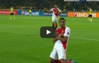 Kylian Mbappe chơi quá hay trong trận Borussia Dortmund 2-3 Monaco
