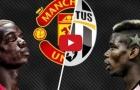 So sánh Paul Pogba ở Juventus với Man United