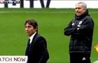 Cuộc chiến của Conte và Mourinho ngoài đường biên