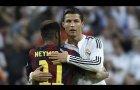 Khi Neymar lần đầu chạm trán Cristiano Ronaldo