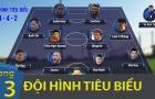 Đội hình tiêu biểu vòng 13 V-League 2017: Vinh danh sao trẻ HAGL