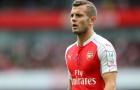 Jack Wilshere khi còn tung hoành tại Arsenal