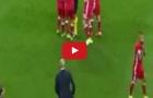 Pha phạm lỗi dẫn đến thẻ đỏ của Arturo Vidal vs Real Madrid