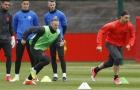 Tiền đạo M.U tập cật lực, quyết xé lưới Anderlecht