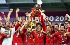 Hành trình đầy cảm xúc của Tây Ban Nha tại EURO 2012