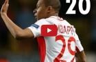21 bàn thắng của Kylian Mbappe từ đầu mùa