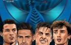 Bốc thăm bán kết Champions League: Real đụng độ Atletico