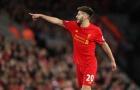 Tầm quan trọng của Adam Lallana tại Liverpool