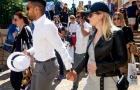 Vợ chồng Radamel Falcao tình tứ đi xem Monte Carlo Masters