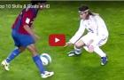 10 skill kinh điển trong các trận El Clasico