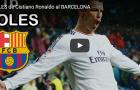 16 bàn thắng của Ronaldo vào lưới Barca