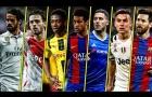 Top 10 cầu thủ rê bóng hay nhất mùa 2016/17