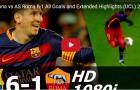 Trận cầu đáng nhớ: Barca 6-1 AS Roma (UCL 2015/16)