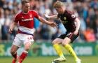 Suýt thua trước Boro, Man City cùng chung cảnh ngộ với Man United