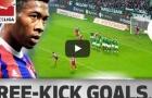Tất cả các bàn thắng đá phạt của David Alaba cho Bayern Munich