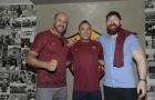 Sao WWE đặt chân đến đại bản doanh AS Roma