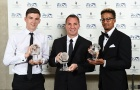 Brendan Rodgers cùng các học trò ẵm trọn bộ danh hiệu tại Scotland