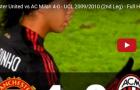 Trận cầu kinh điển: Manchester United vs AC Milan 4-0 - UCL 2009/2010