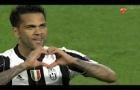 Bàn thắng của Dani Alves vs Monaco