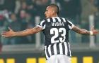 Arturo Vidal khi còn chơi cho Juventus