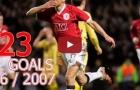 Tất cả 23 bàn thắng của Man United tại Champions League 2006/07