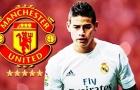 James Rodríguez, ngôi sao đang rất gần với Man Utd