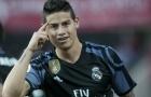 M.U chú ý, Real đã ra giá bán James Rodriguez