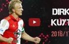 Tất cả 15 bàn thắng của Dirk Kuyt cho Feyenoord mùa 2016/17