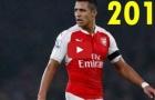 28 bàn thắng của Alexis Sanchez cho Arsenal từ đầu mùa