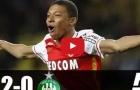 Monaco 2-0 Saint Etienne (đấu bù Ligue 1)