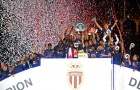 Niềm vui khó tả của Monaco trong ngày đăng quang ngôi vô địch Ligue 1