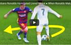 5 lần Ronaldo làm bẽ mặt Messi ngay trên sân cỏ