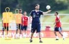 Ancelotti bận 'tám', con trai thay mặt chỉ đạo Bayern tập luyện