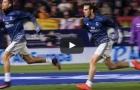 Cristiano Ronaldo và Gareth Bale đọ tốc độ