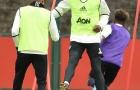 Gạt đi nỗi buồn mất cha, Pogba trở lại tập luyện cùng Man Utd