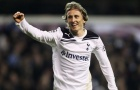 Luka Modric khi còn khoác áo Tottenham