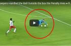 Những tình huống thủ môn bắt bóng ngoài vòng 16m50 'tỉnh như ruồi'