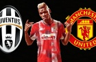 So sánh Pogba trong màu áo Juventus và Man Utd